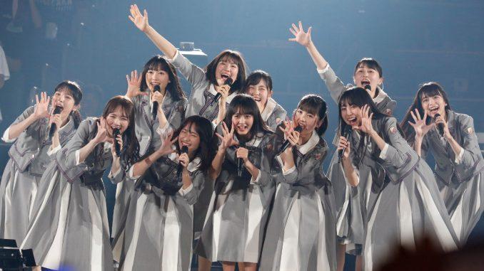 乃木坂46・4期生が『AGESTOCK2019 in TOKYO DOME CITY HALL』に