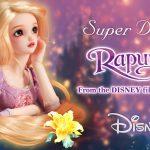 ディズニープリンセス「ラプンツェル」が、京都発の球体関節人形 「スーパードルフィー」に登場!