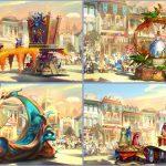 カリフォルニア ディズニーランド・リゾートに新パレード「マジック・パフンズ」が登場!