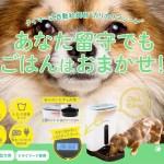 猫&犬ごはん用タイマー式自動給餌器うちのこエレクトリック【カリカリマシーン】-PR-
