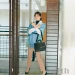 乃木坂46梅澤美波が美少女戦士セーラームーンと着まわしで共演!with3月号